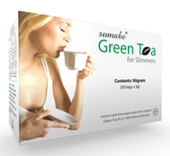 green tea 3d box
