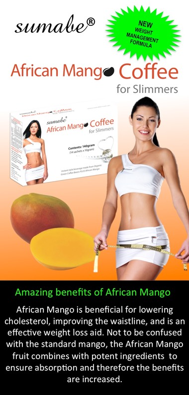 NEW AFRICAN MANGO COFFEE FLYER